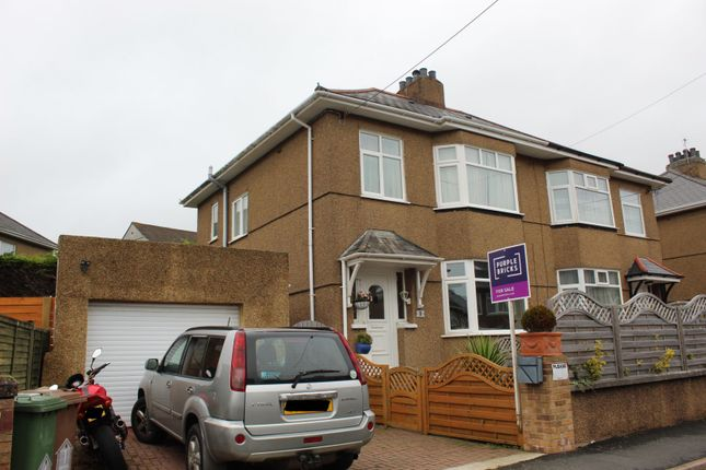 Thumbnail 3 bed semi-detached house for sale in Thornyville Villas, Plymouth