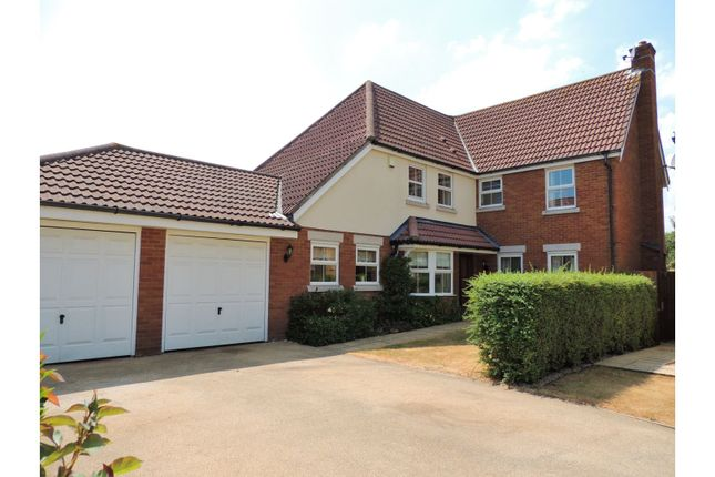 Thumbnail Detached house for sale in Golding Close, Rochester