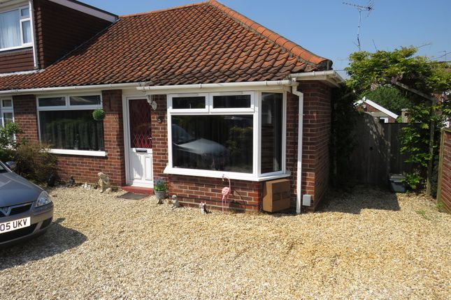 Thumbnail Semi-detached bungalow for sale in Parana Close, Sprowston, Norwich