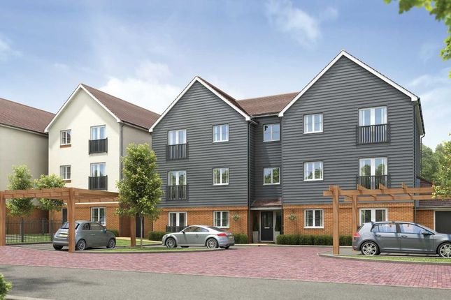 "Thumbnail Flat for sale in ""Bluebell House - Plot 475"" at Finn Farm Road, Kingsnorth, Ashford"