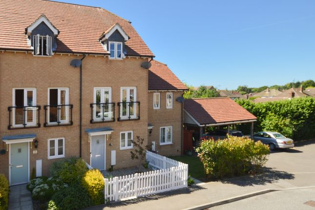 Thumbnail Town house for sale in Greystones, Ashford, Kent