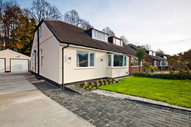 Thumbnail Semi-detached bungalow for sale in Station Road, Woolton