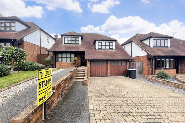 Thumbnail Detached house to rent in Rowbourne Place, Cuffley, Hertfordshire