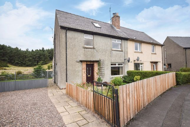 Thumbnail Semi-detached house for sale in Abercairney Place, Blackford, Perthshire