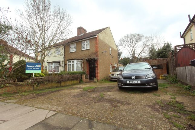 Thumbnail Semi-detached house for sale in Leighton Road, Enfield
