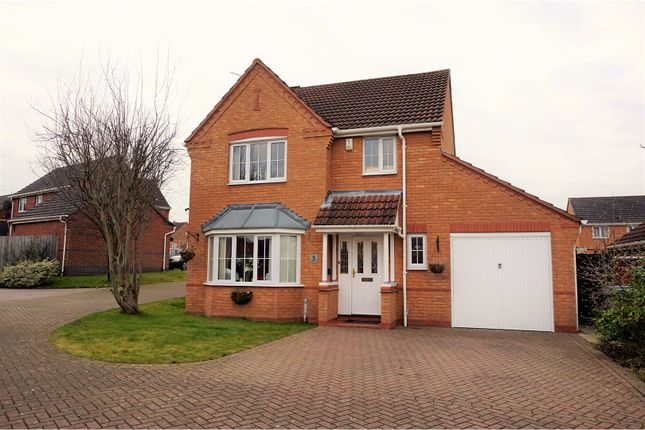 4 bed detached house for sale in Elmwood Court, Worksop