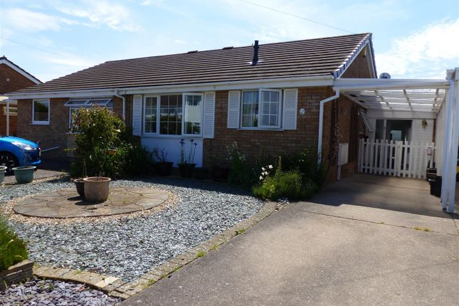 Thumbnail Semi-detached bungalow for sale in Osprey Drive, Caldicot