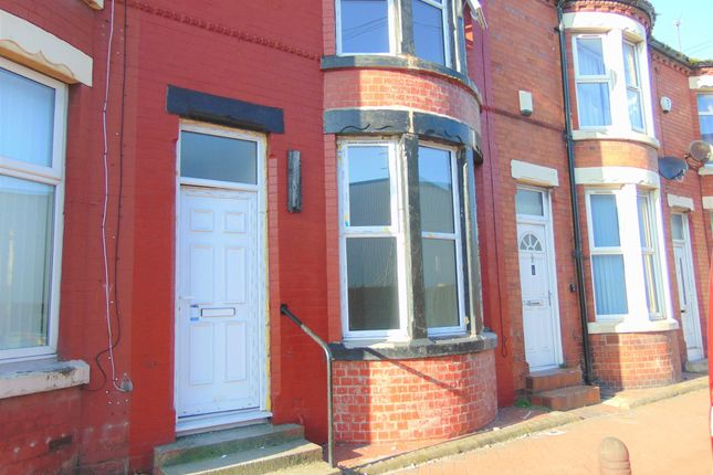 Thumbnail Terraced house to rent in Birkenhead Road, Seacombe, Wirral, Merseyside