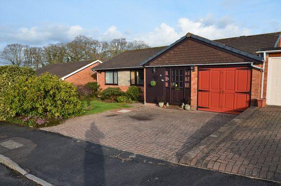 Thumbnail Detached bungalow for sale in Follett Road, Tiverton