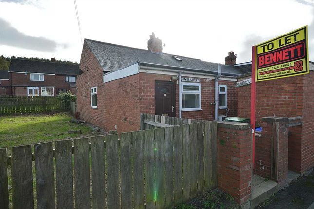 Thumbnail Bungalow to rent in James Street, Dipton, Stanley