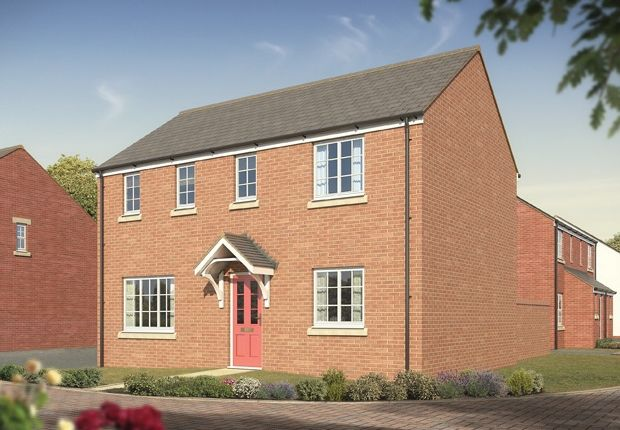 "Thumbnail Terraced house for sale in ""The Clayton"" at Yeovil Road, Sherborne"