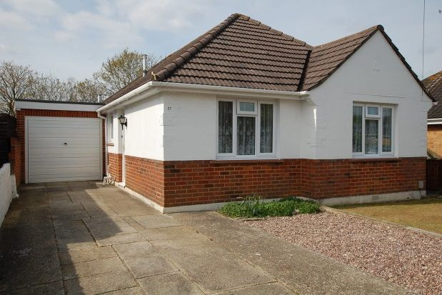 Thumbnail Detached bungalow to rent in Anchor Road, Bournemouth