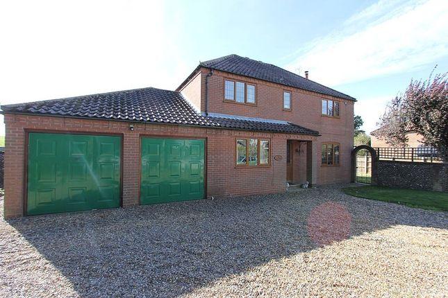 Thumbnail Detached house for sale in Field View, Skeyton Corner, Skeyton, Norwich, Norfolk