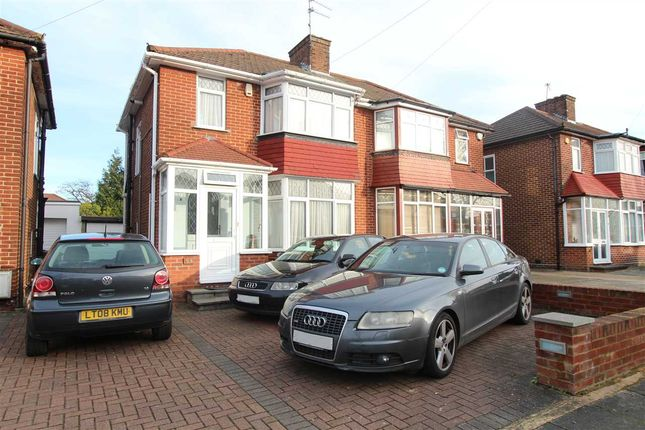 Thumbnail Semi-detached house to rent in Anmersh Grove, Stanmore