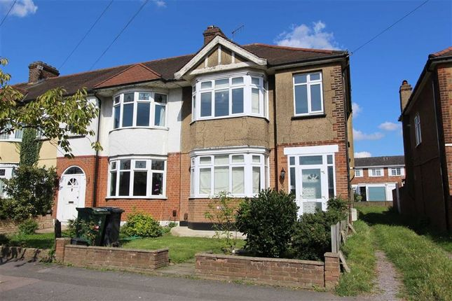 Thumbnail End terrace house to rent in Shaftesbury Road, London