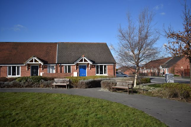 Thumbnail Terraced bungalow for sale in Cecily Close, Normanton