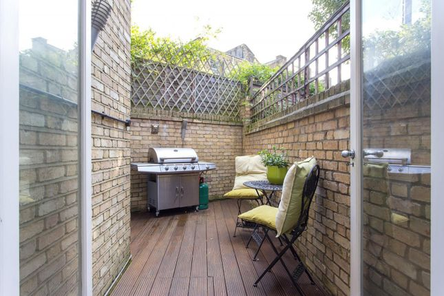 Garden of Clarence Way, London NW1