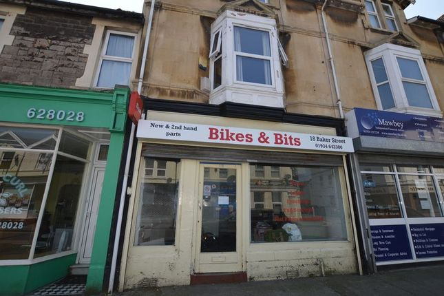 Thumbnail Commercial property for sale in Baker Street, Weston-Super-Mare