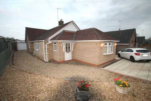 Thumbnail Detached bungalow to rent in Northwick Road, Ketton, Stamford