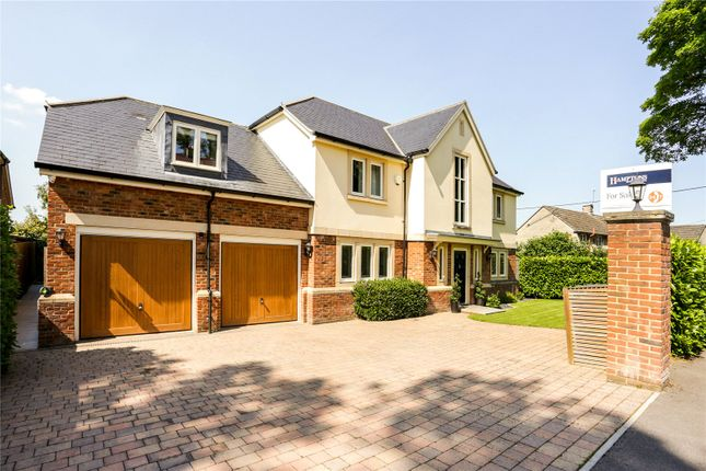 Thumbnail Detached house for sale in Pontings Close, Blunsdon, Swindon