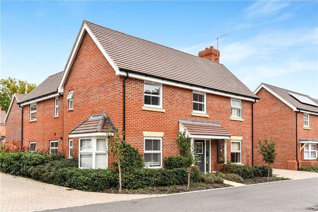 Thumbnail Detached house for sale in Grant Drive, Church Crookham, Fleet