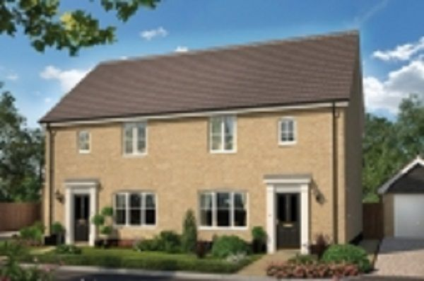 Thumbnail Semi-detached house for sale in Nursery Lane, South Wootton, Norfolk