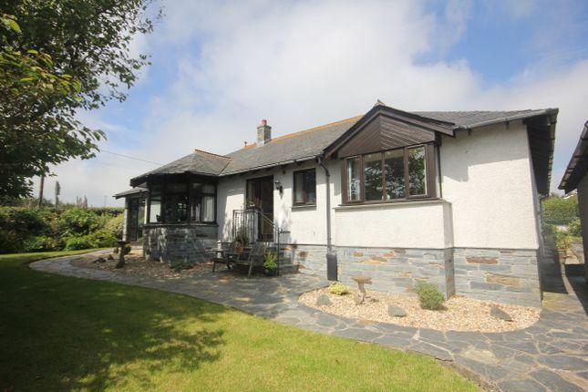 Thumbnail Detached bungalow for sale in Little Petherick, Wadebridge