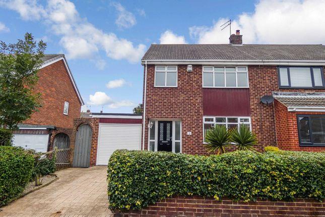 Thumbnail Semi-detached house for sale in Carlton Crescent, East Herrington, Sunderland