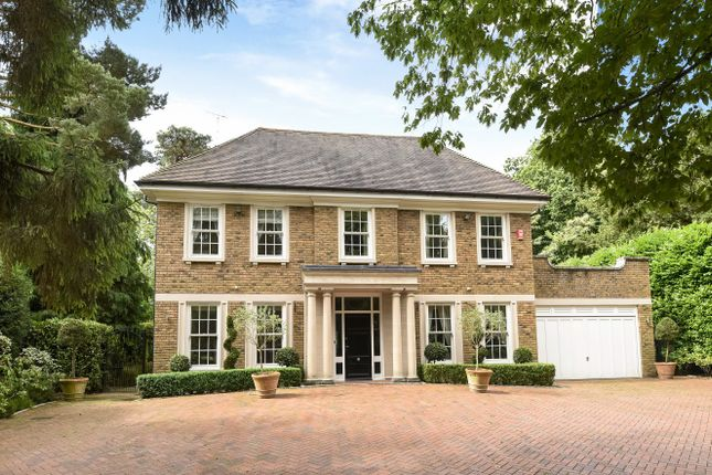 Thumbnail Detached house to rent in Granville Close, St. Georges Hill, Weybridge