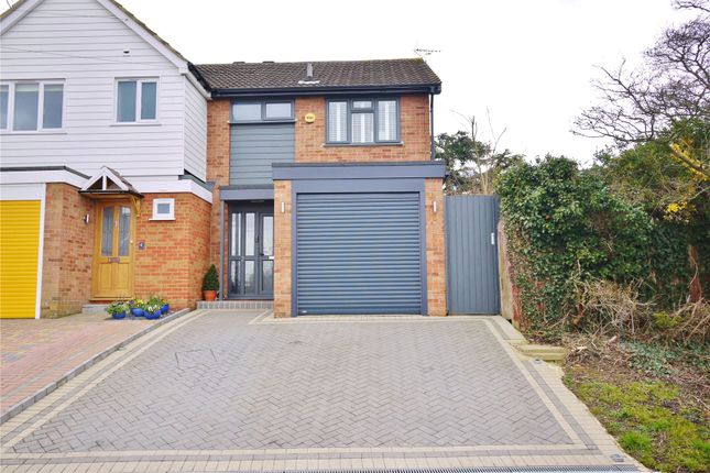 Thumbnail Semi-detached house for sale in Southall Way, Brentwood, Essex