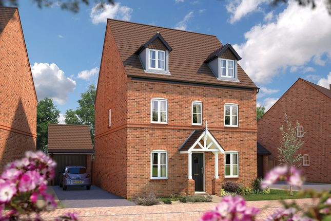 "Thumbnail Detached house for sale in ""The Chelford"" at Wall Hill, Congleton"