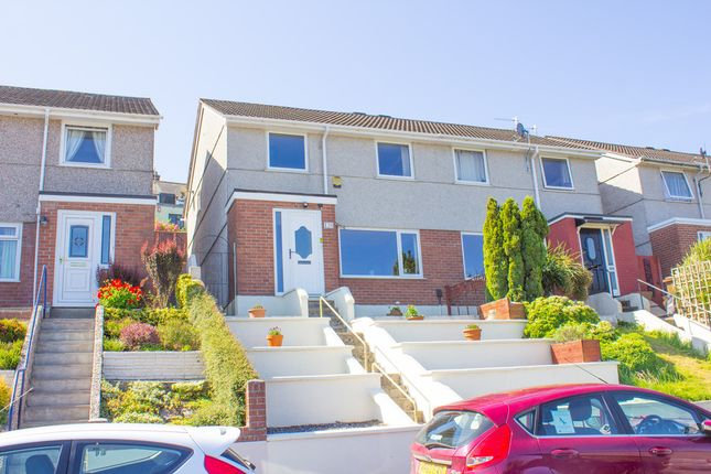 Thumbnail Semi-detached house for sale in Sefton Avenue, Lipson, Plymouth