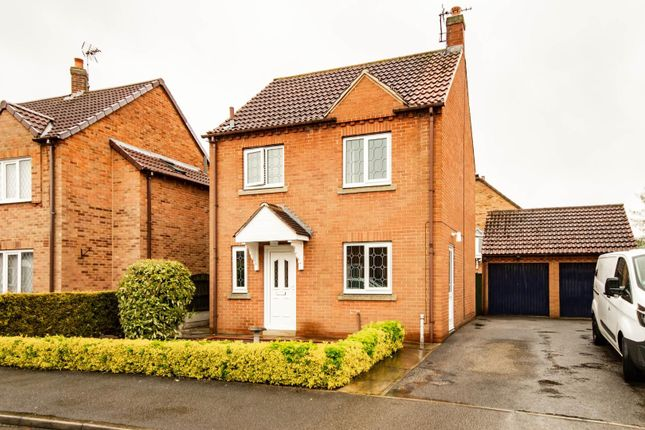 3 bed detached house for sale in Tate Close, Wistow, Selby YO8