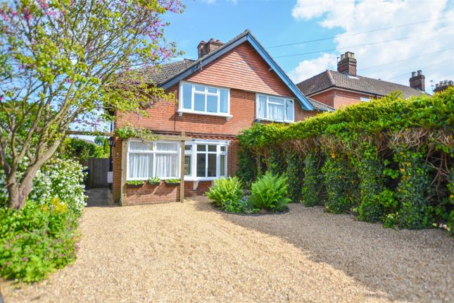 Thumbnail Semi-detached house for sale in Intwood Road, Cringleford, Norwich