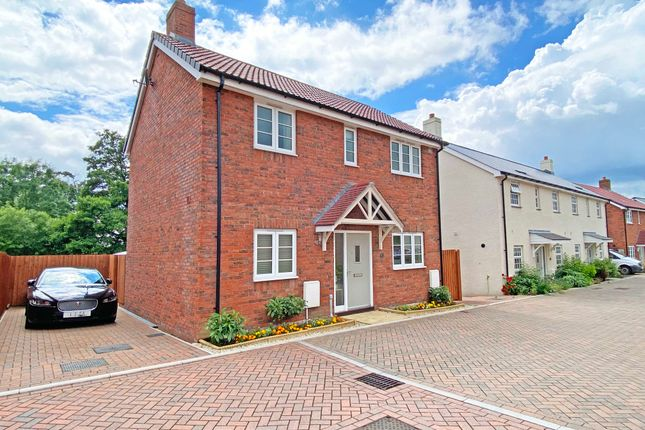 Thumbnail Detached house for sale in Meadow View Close, Woodbury, Exeter