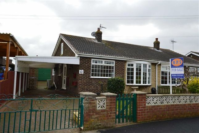 Thumbnail Semi-detached bungalow for sale in Castle View, Skipsea, East Yorkshire