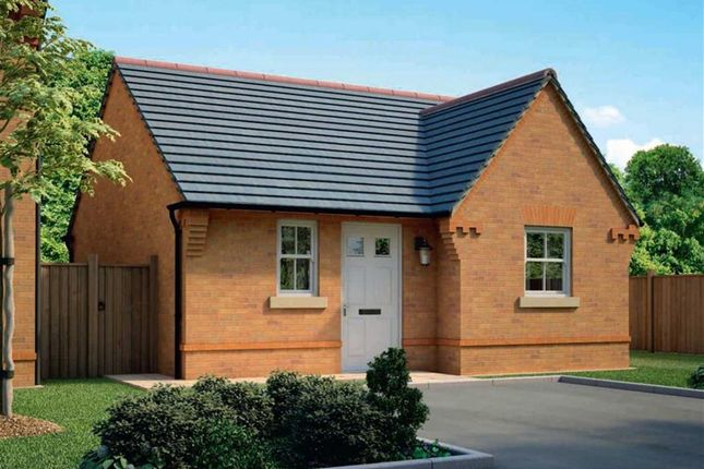 Thumbnail Detached bungalow for sale in Meadow View, Maw Green Road, Crewe