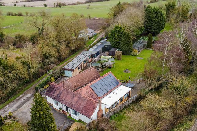 Thumbnail Detached bungalow for sale in Teversham Road, Fulbourn, Cambridge