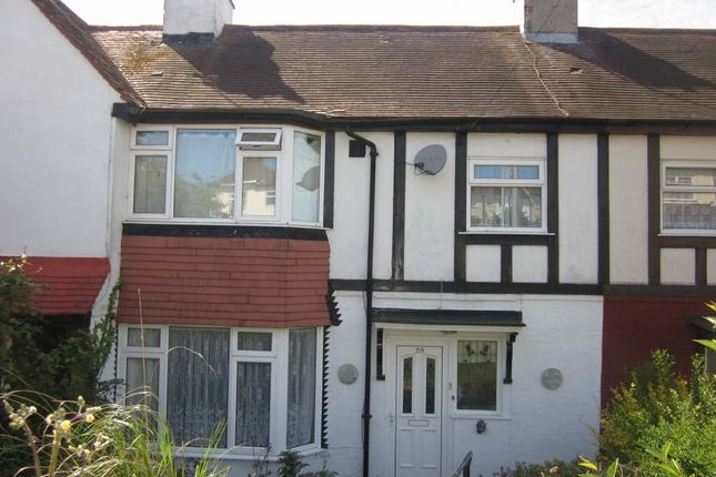 Thumbnail Terraced house to rent in Bevendean Crescent, Brighton