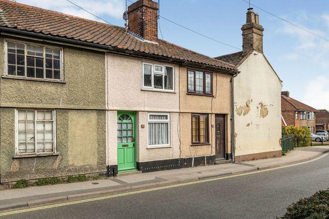 2 bed terraced house for sale in College Road, Framlingham, Woodbridge IP13
