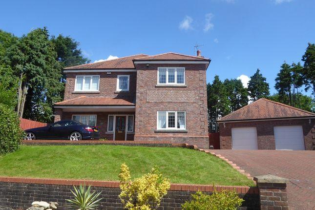 Thumbnail Detached house for sale in Leckwith Rise, Bridgend, Bridgend.