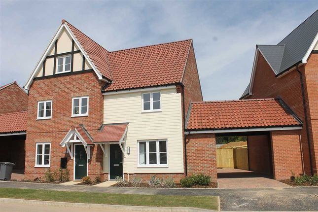 2 bed semi-detached house to rent in The Sandlings, Martlesham, Woodbridge