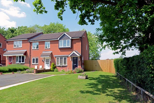 Thumbnail Semi-detached house for sale in Leabank Close, Shrewsbury