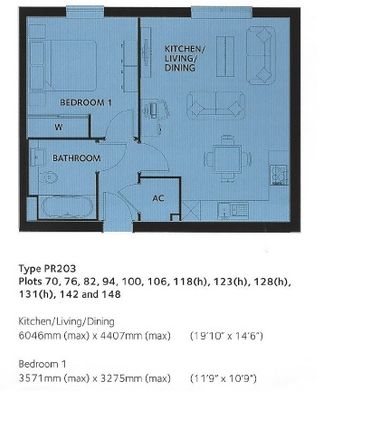 Floor Plan of Olympia Way, Swale Park CT5