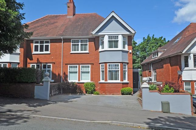 Thumbnail Semi-detached house for sale in Substantial Period House, Edward Vii Avenue, Newport