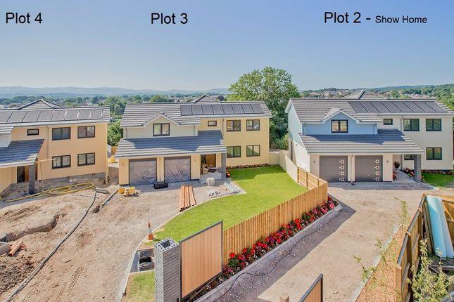 Thumbnail Detached house for sale in Plot 4 Leatfield, Golvers Hill, Kingsteignton