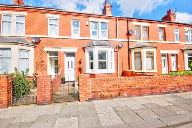 Terraced house for sale in Woodhorn Road, Ashington
