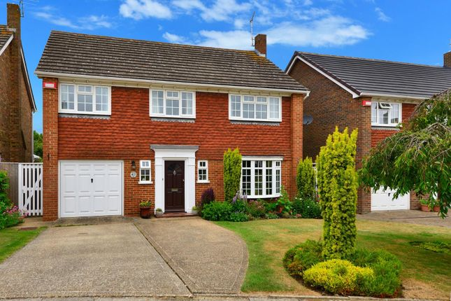 Thumbnail Detached house for sale in Winchester Gardens, Canterbury