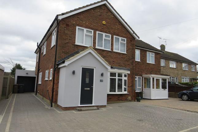 Thumbnail Semi-detached house for sale in Sylvan Close, Moulsham Lodge, Chelmsford