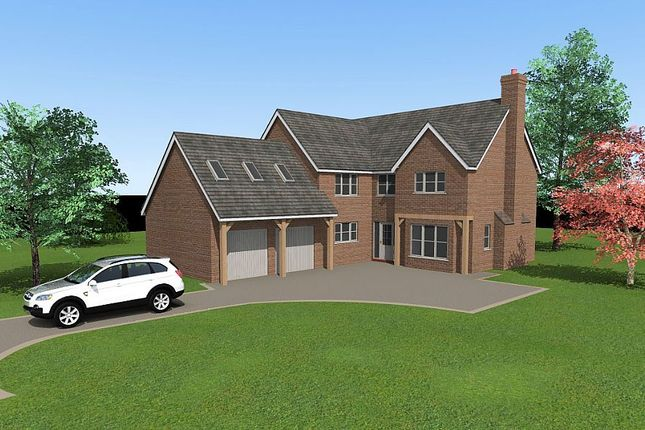 Thumbnail Detached house for sale in Plot 3, Shaw Park, Weston Lane, Oswestry, Shropshire